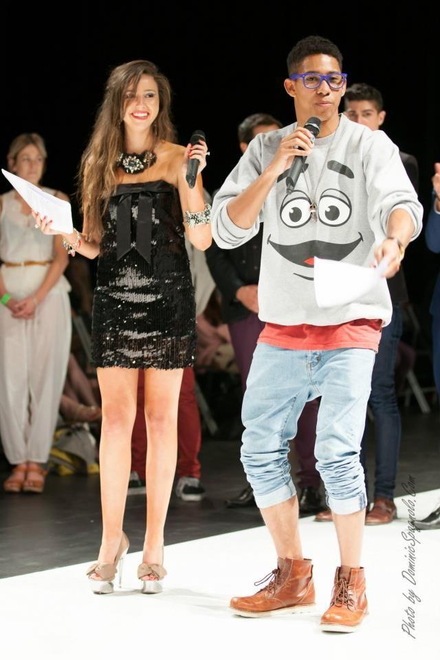 Australian Graduates Fashion Week. Keiynan Lonsdale & Krystle McGill