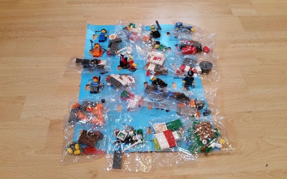 Lego City Adventskalender 2007 Komplett 17 Von 24 Figuren Noch