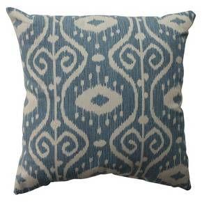Empire Throw Pillow Blue - Pillow Perfect : Target