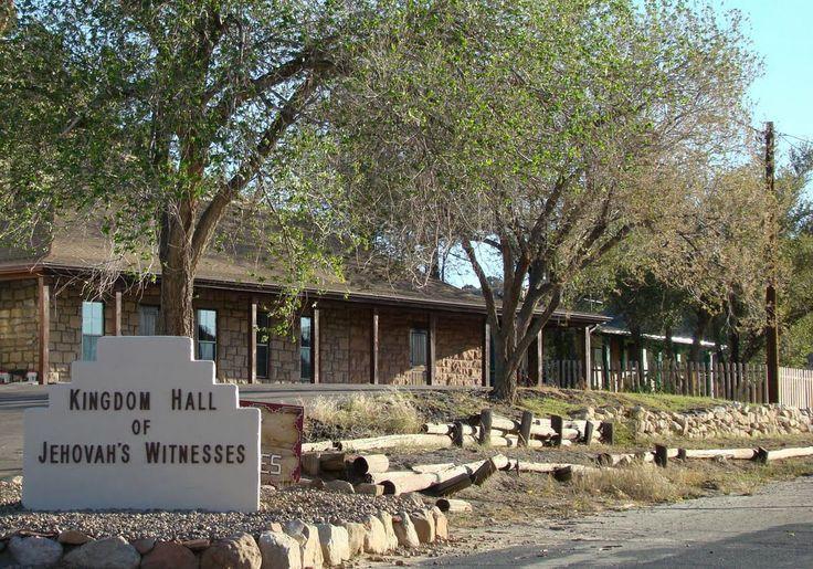 Our Kingdom-Hall in Keams-Canyon (Arizona)...