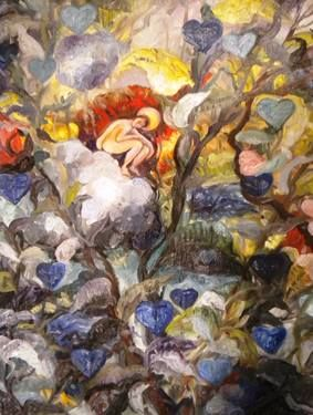 "Saatchi Art Artist Nada  Sucur Jovanovic; Painting, "",,The angel,,"" #art"
