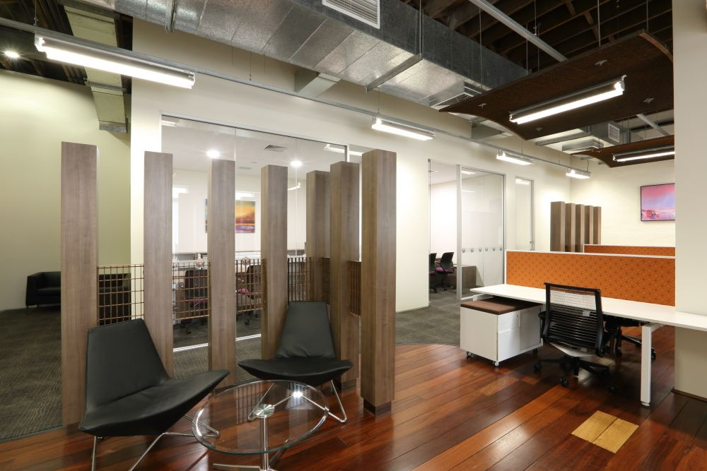 Open Plan Workstations Commercial Interior Design Commercial Interiors Commercial Property For Rent
