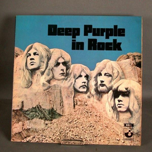 LP. Vinyl. Deep Purple in Rock. 1970. (With images