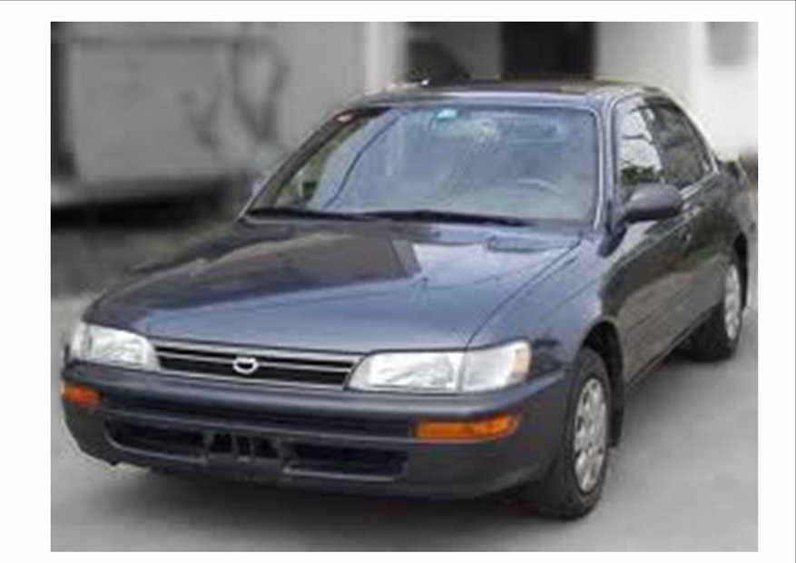 2000 Toyota Corolla Parts For