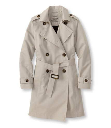 Does wanting this trench make me an old lady??    Commuter Trench, Wool-Lined: Casual Jackets | Free Shipping at L.L.Bean