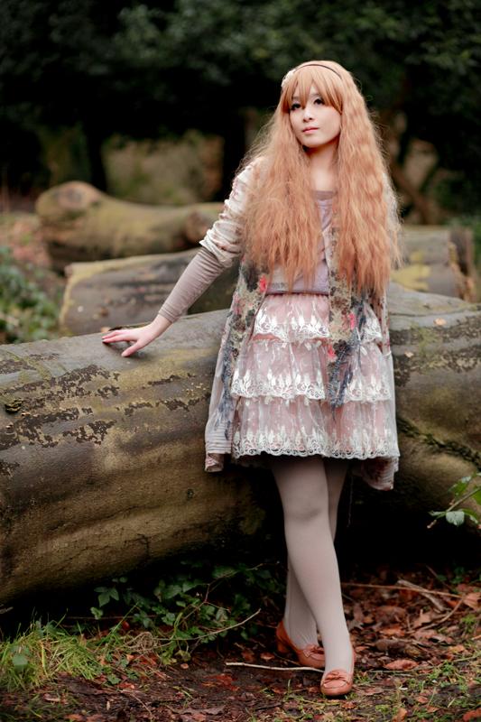 Pretty mori girl. #morigirl #morikei #mori #forest #fashion #vintage