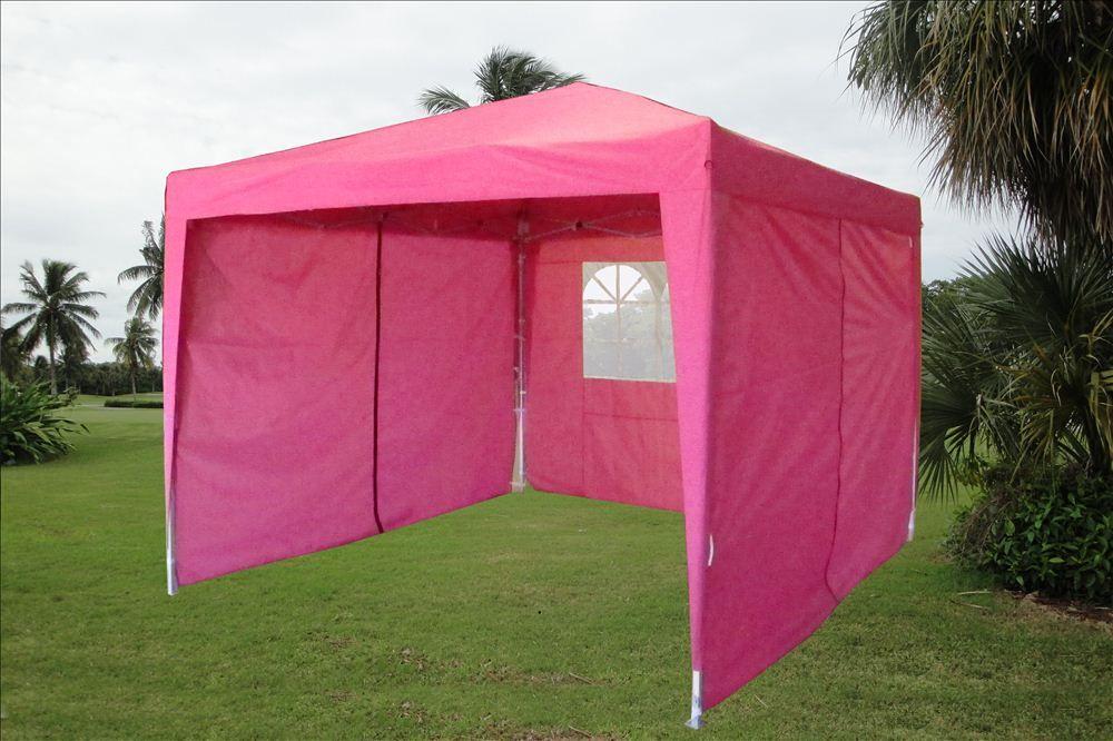 Canopy design pink 10x10 pop up canopy pink gazebo tent