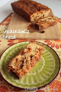 Snickerdoodle Bread - Crumbs and Chaos