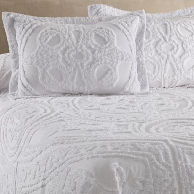 Strallan Bedspread In White Bedbathandbeyond Com New Apartment