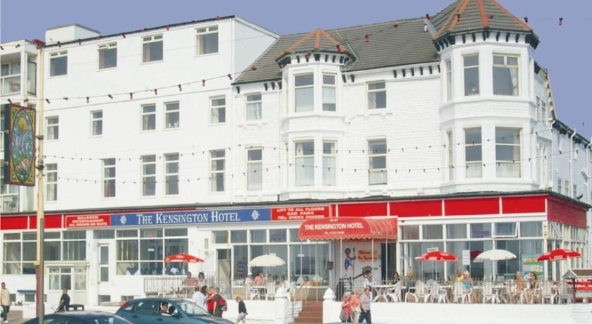 The Kensington Hotel Blackpool Opposite Beach And On Promenade Is Located Between S Central Pier South