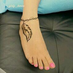Cute Feather Get Inked Henna Henna Designs Henna Tattoo Designs