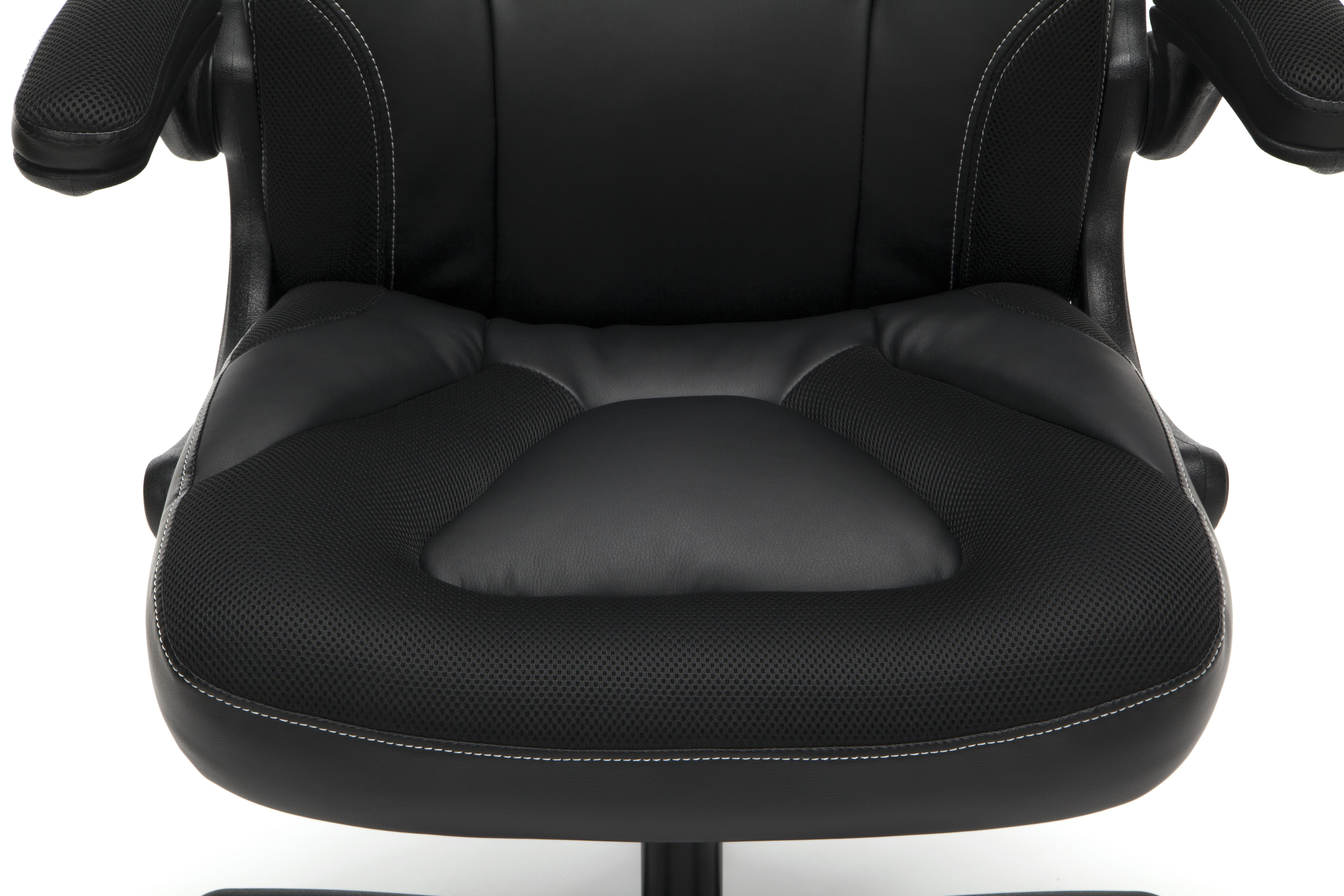 Ofm Essentials Collection Racing Style Bonded Leather Gaming Chair In Green Ess 3085 Grn Walmart Com Bonded Leather Ofm Heavy Duty Chairs
