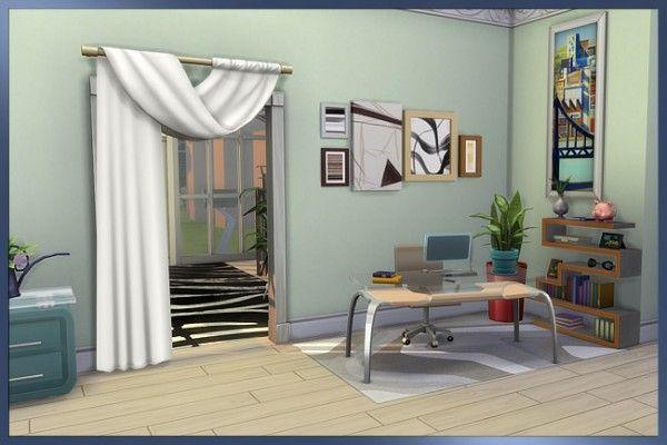 Blackys Sims 4 Zoo: Valeria livingroom | Sims | Pinterest | Sims and ...