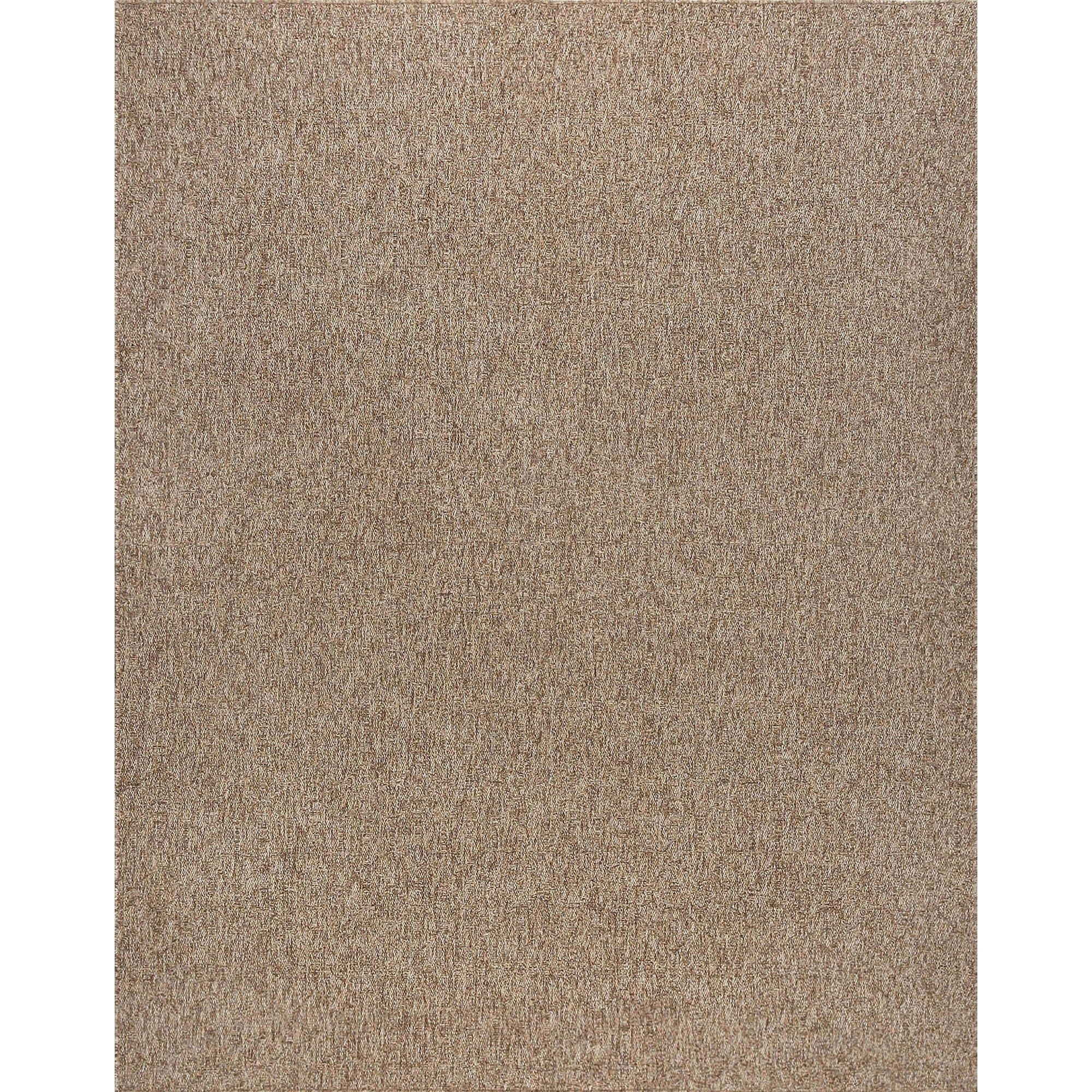 Alise Rugs Seros Modern Solid Area Rug 7 9 X 10 Brown 7 9 X