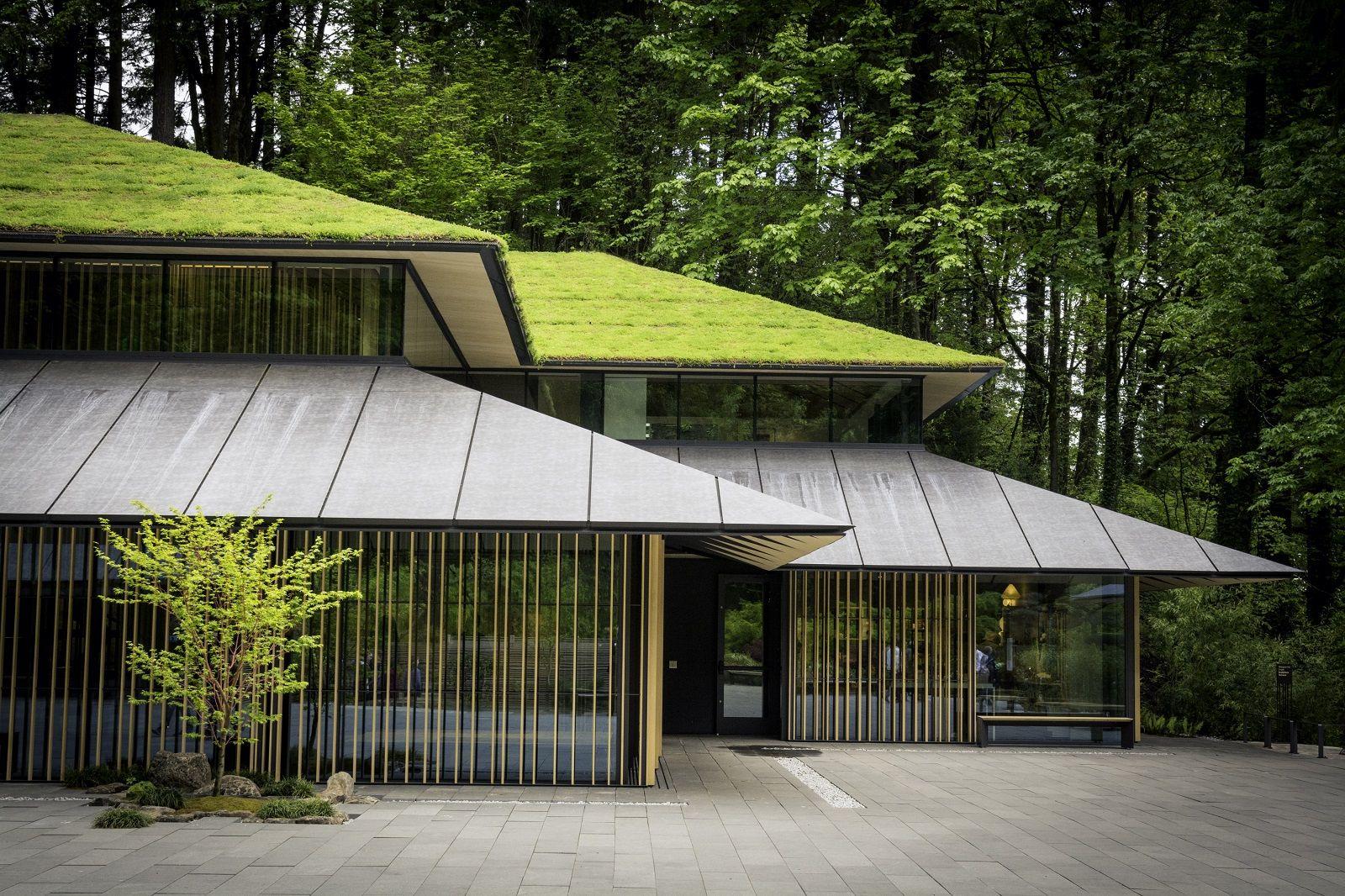 Jordan Schnitzer Japanese Arts Learning Center Garden Architecture Japanese Architect Portland Japanese Garden