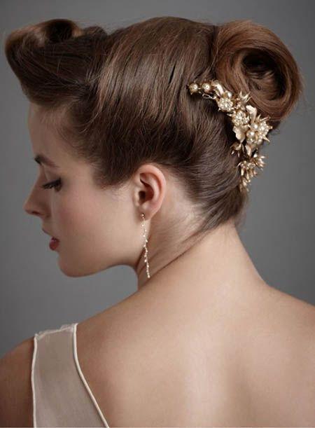 Best Ladies Hair Cut Updos Romantic Elegant wedding