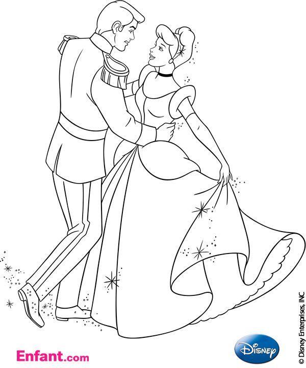 coloriages tlcharger coloriages disney cendrillon - Coloriages Disney