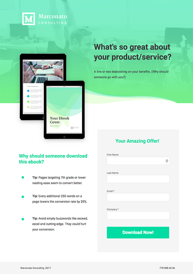 New To Unbounce 10 Industry Specific Landing Page Templates Landing Page Web Design Website Design Layout