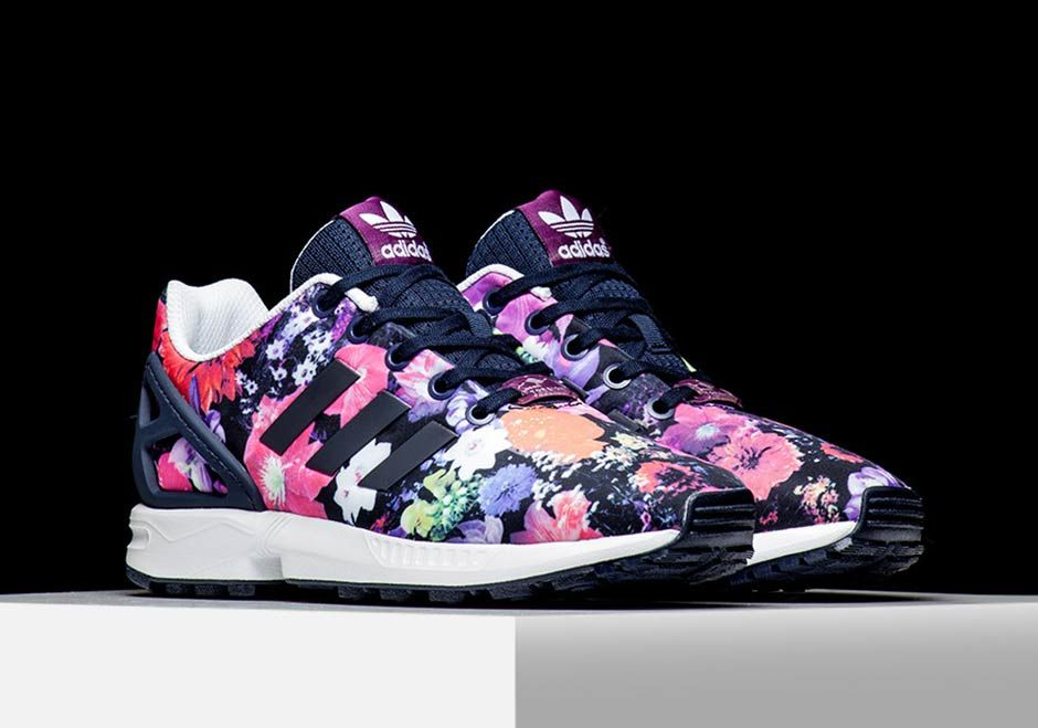 c92dc6398fe79 adidas Is Bringing Floral Prints Back With The ZX Flux - SneakerNews.com