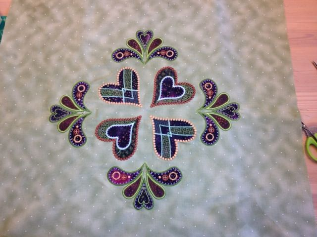 A Dutch blog about one of Sarah's blocks. Colors are different from what is usually seen.
