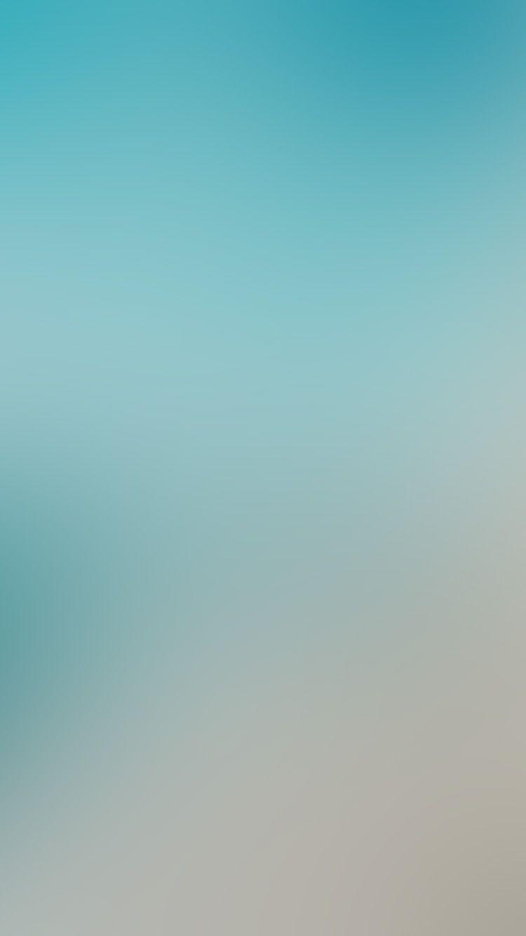 Sky Blue Clear Love Gradation Blur Wallpaper Hd Iphone Colorful