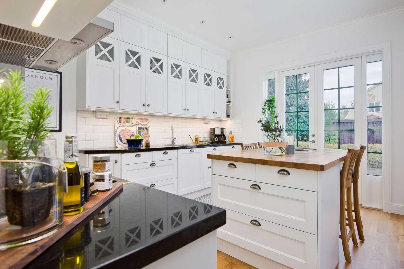 Skandináv konyha - gyönyörű vintage konyha képek   Cliff konyhabútor ...