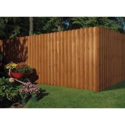 6 Ft X 6 Ft Pressure Treated Cedar Tone Moulded Multi Style