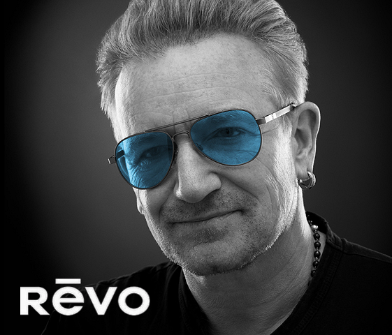76d46483bbc Bono from U2 Partners with Revo Eyewear Company on Campaign to Provide  Vision Care to People in Need