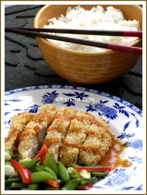 الدجاج مع الارز بالخضار المشكل من المطبخ الياباني اكلات شهية مطبخ بنوته عالم المرأة بنوته كافيه Chicken Katsu Curry Japenese Food Asian Recipes