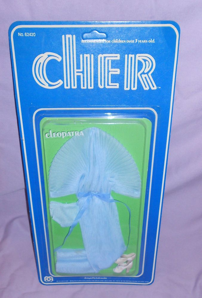 CHER DESIGNER OUTFIT -CLEOPATRA- MINT ON CARD -By BOB MACKIE -MEGO 1976 #Mego #ClothingAccessories