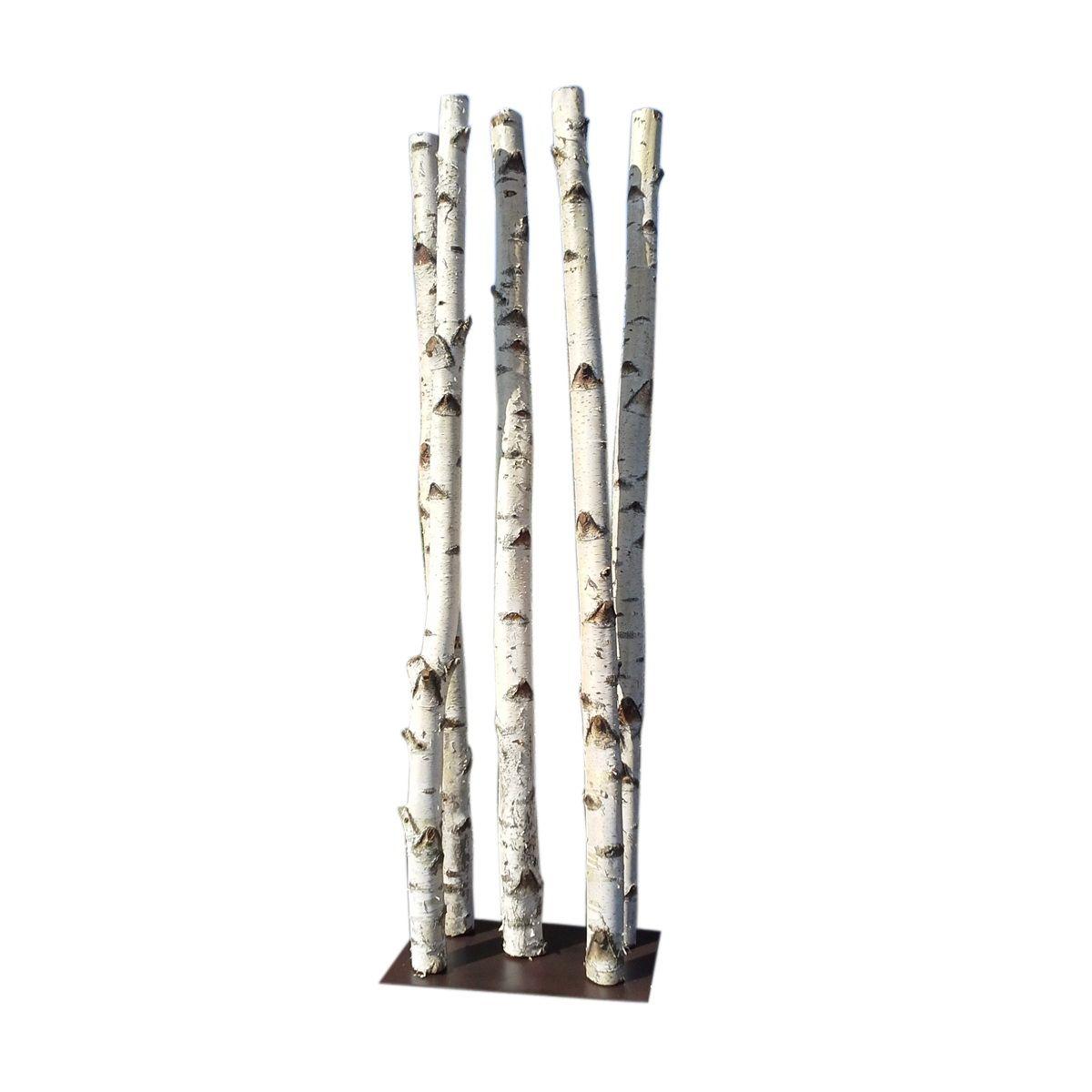 Colonne de 5 troncs de bouleaux  BOULEAU  Pinterest