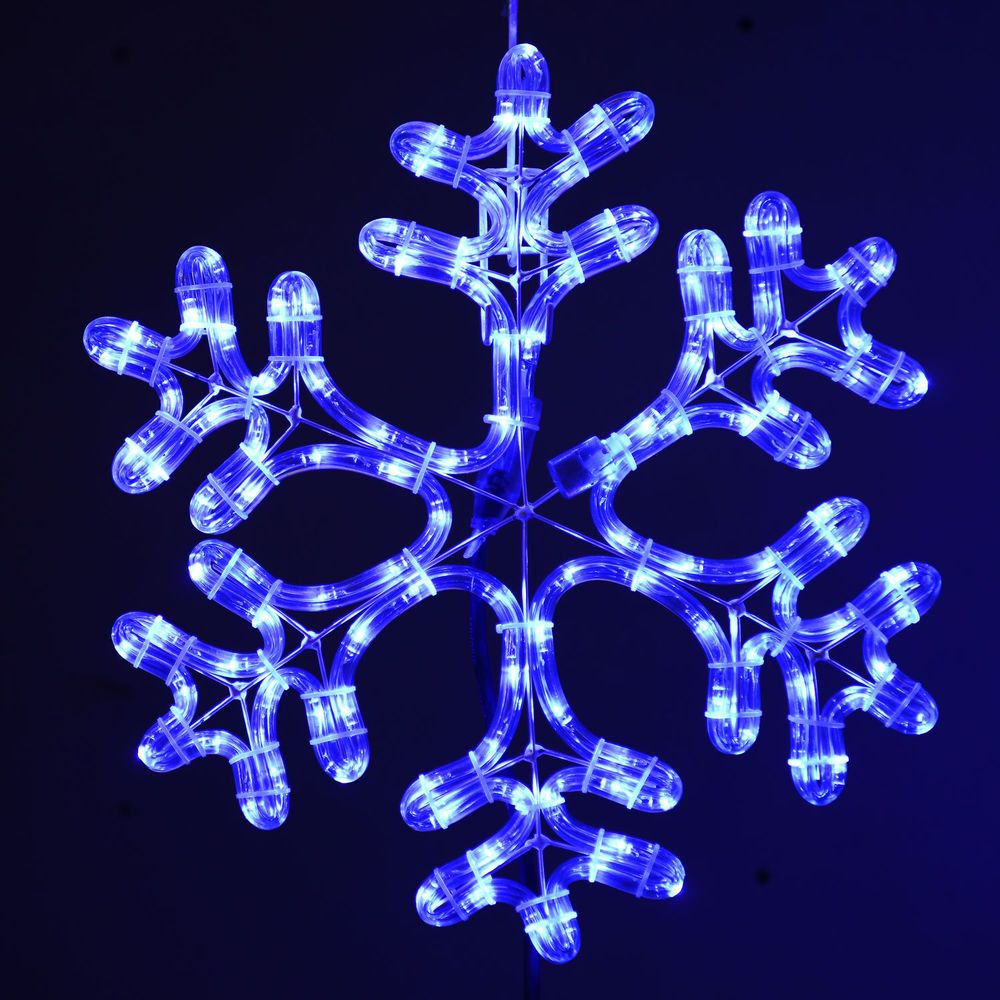 Snowflake Led Christmas Decoration Lights Indoor Outdoor Holiday Snow Yard Decor Outdoor Snowflake Lights Indoor Christmas Lights Christmas Lights
