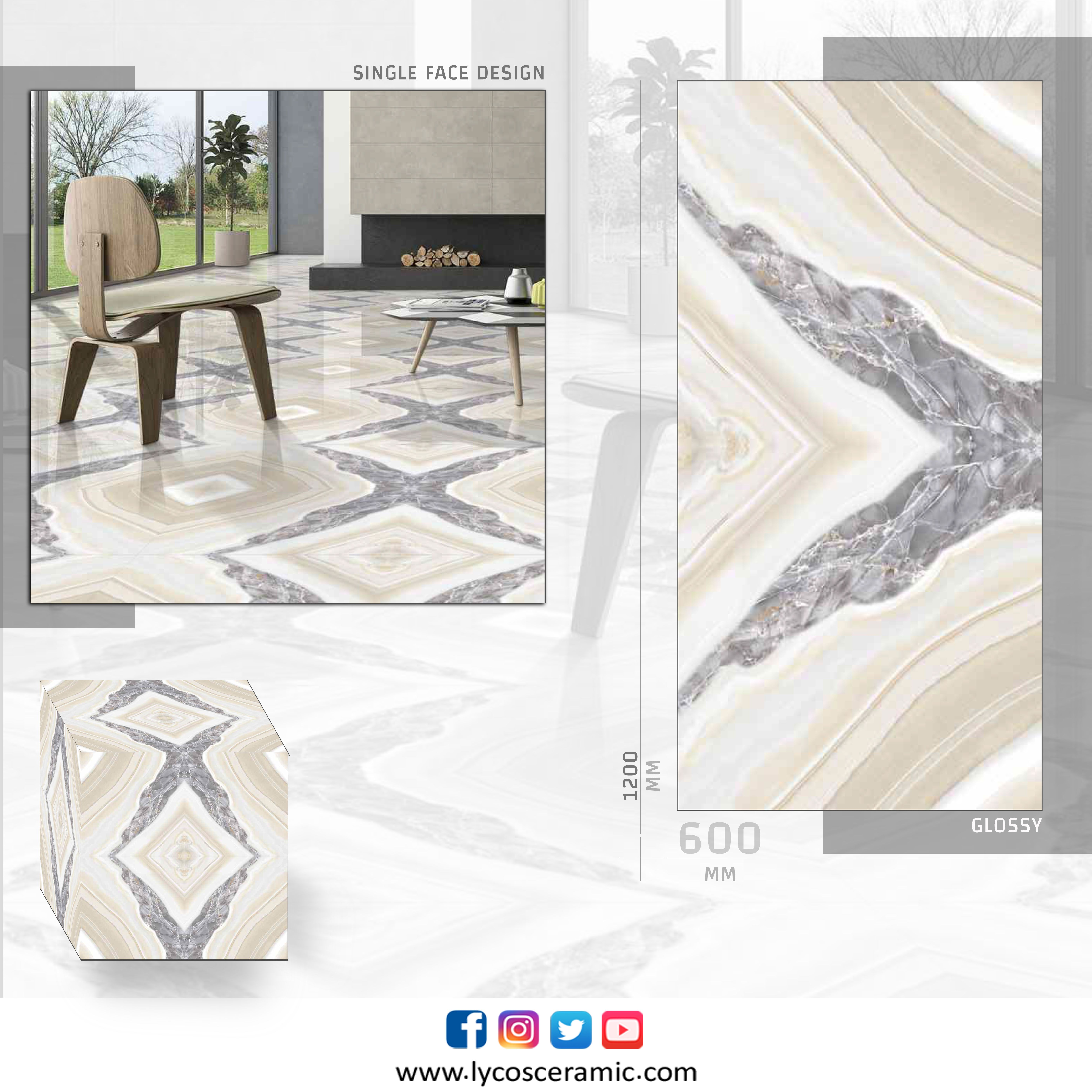 Designs To Make You Fall In Love Size 1200mm X 600mm Email Export Lycosceramic Com Singlefacedesign Floortile Lycosceramic In 2020 Porcelain Tile Tiles Design