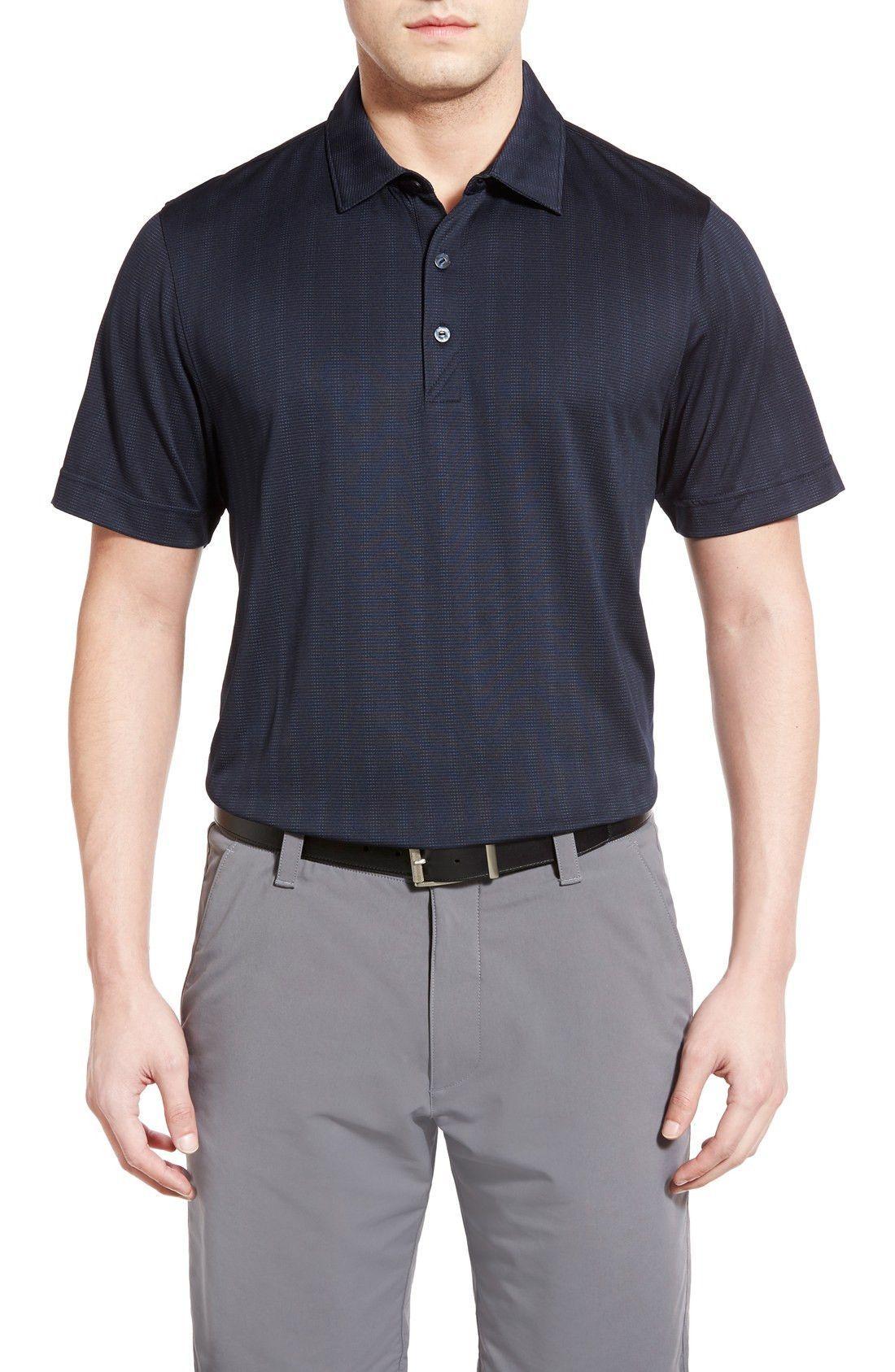 'Hamden Jacquard Stripe' DryTec Moisture Wicking Golf Polo #PlaySportsShop #fitnessfashion #sportclothes #playsportshop #freeshipping #thenewme