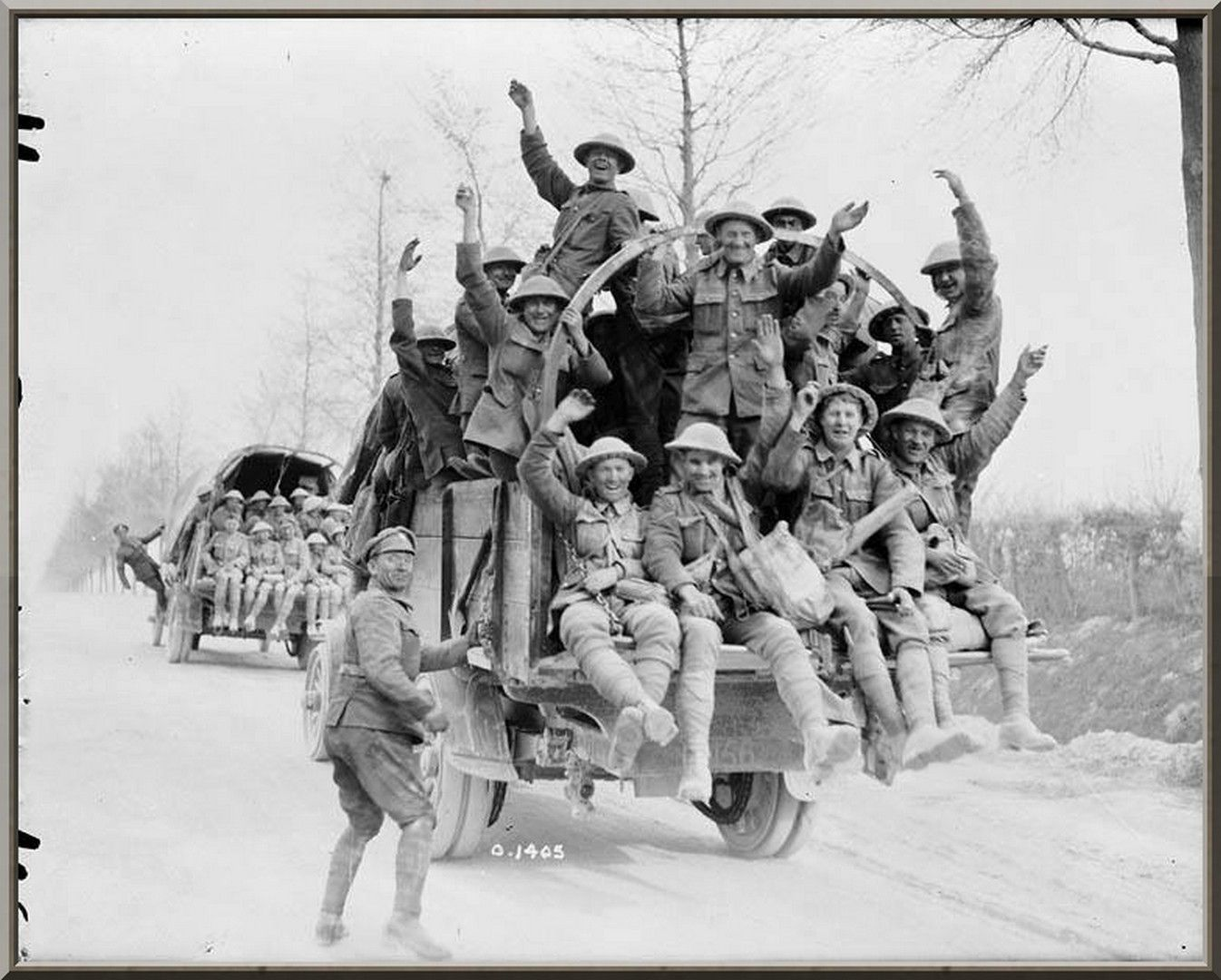 caf canadian iers returning from vimy ridge taken in  caf canadian iers returning from vimy ridge taken 1917 in the vicinity of vimy