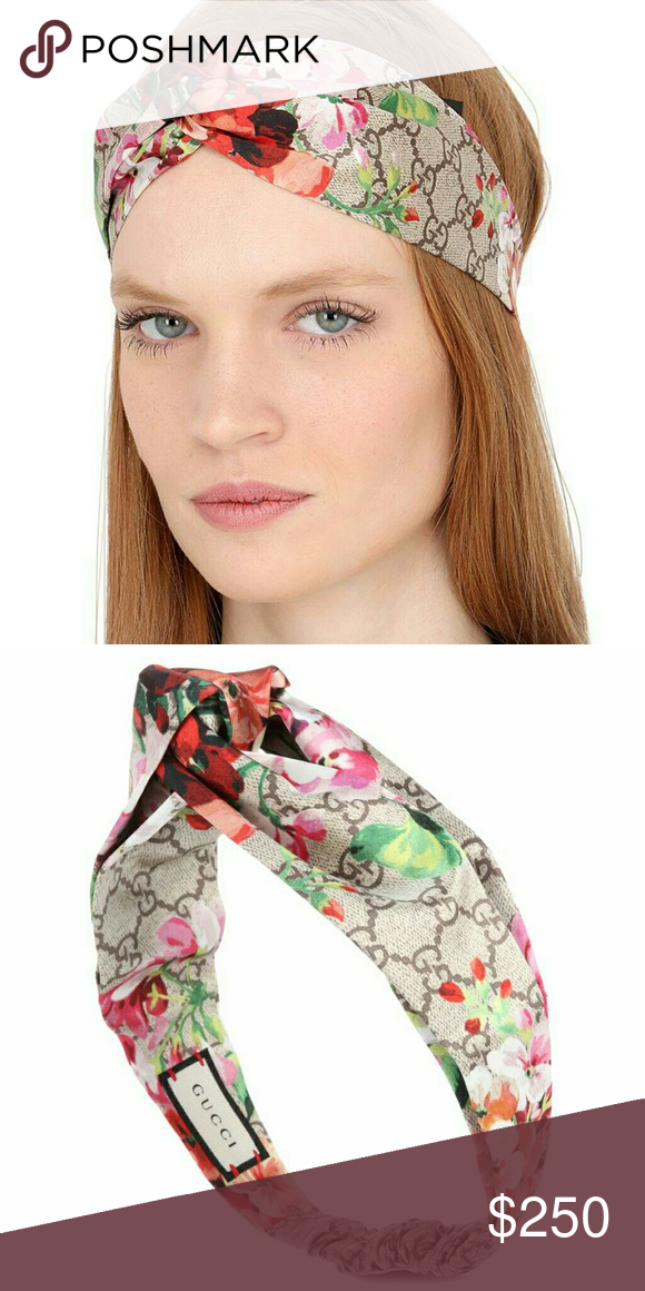21723d220229b Gucci Floral Headband Pre-owned, worn a few times but in great ...