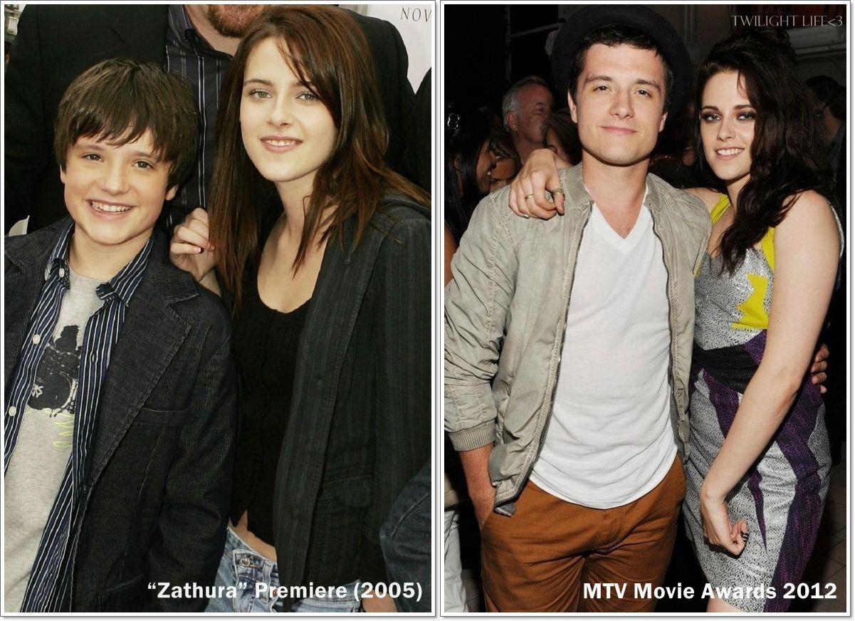 """Kristen Stewart & Josh Hutcherson """"Zathura"""" Premiere(2005 ..."""