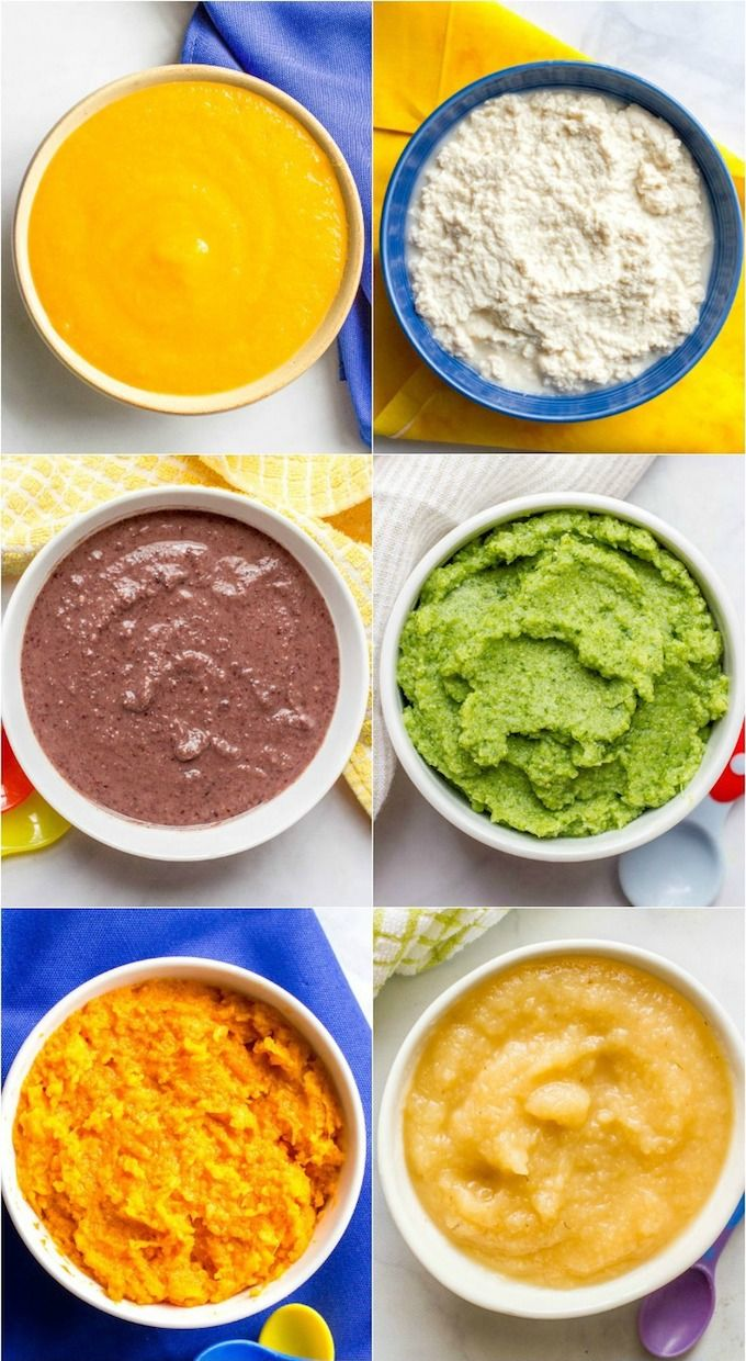 Homemade baby food combinations | Baby food recipes, Baby ...