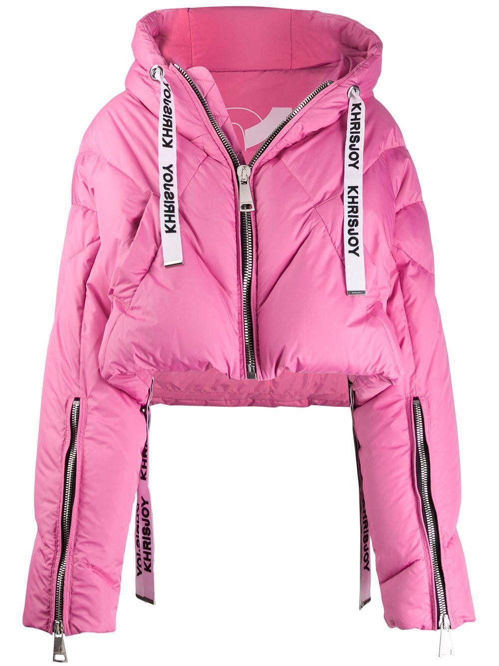 Khrisjoy Cropped Hooded Puffer Jacket Farfetch In 2021 Jackets Puffer Jackets Fashion [ 1334 x 1000 Pixel ]
