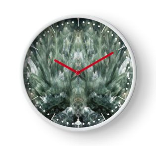 Seraphinite Clock by lightningseeds® for crystalapertures.rocks.