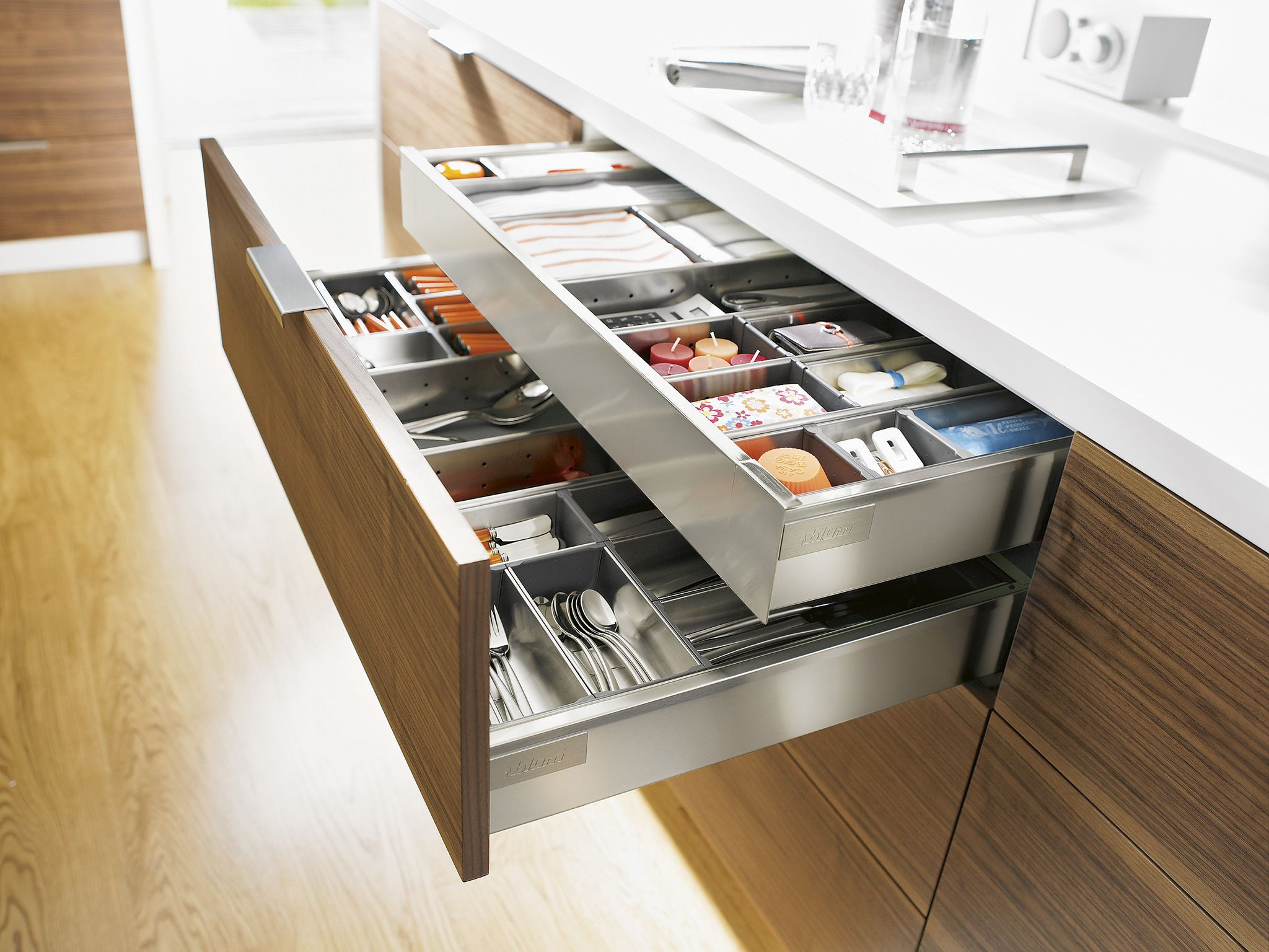 Stainless steel drawer and inner drawer suitable for for Wastafel kitchen set