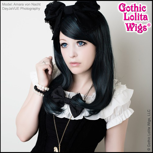 Gothic Lolita Wigs®  Daily Doll™ Collection - Black & Teal