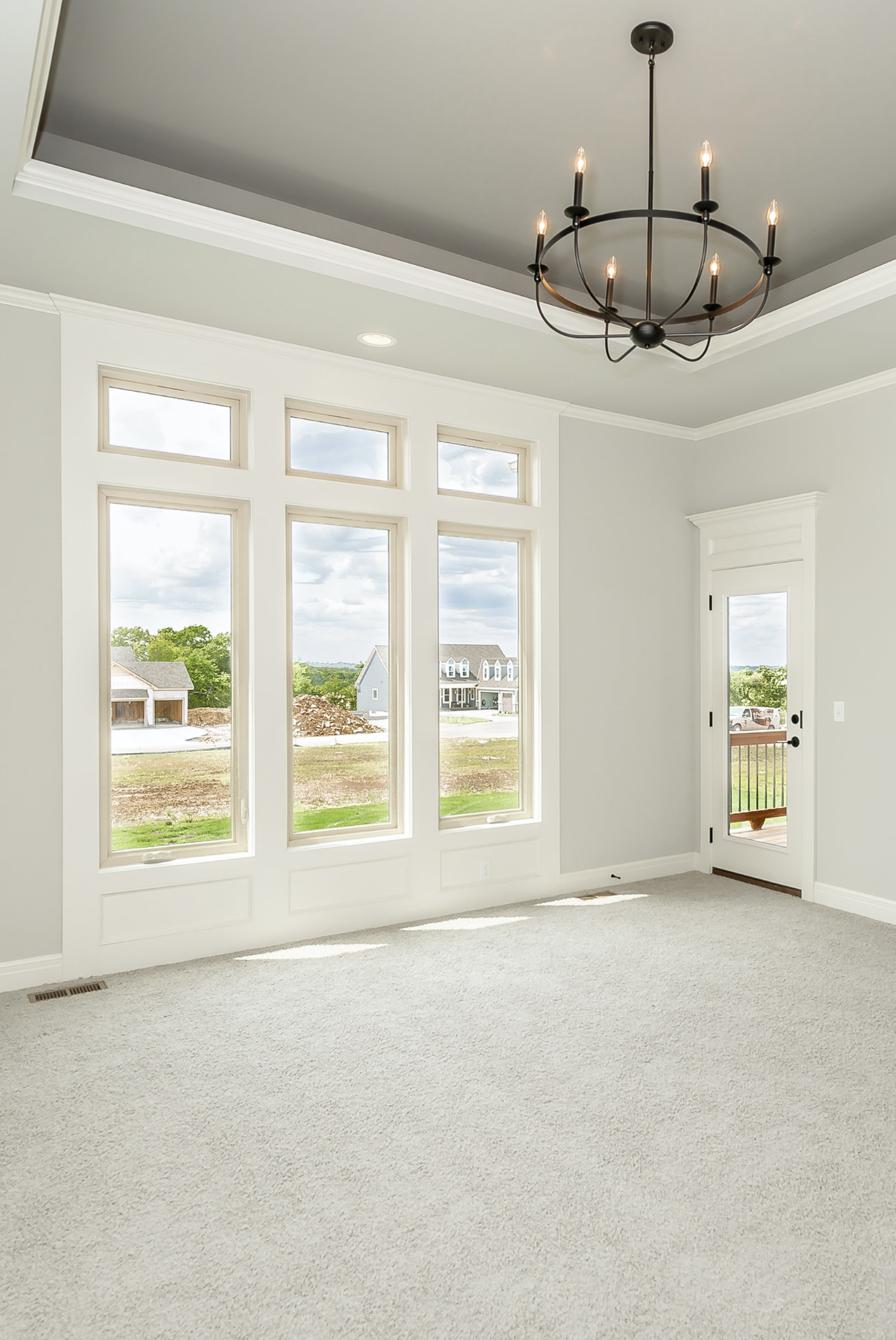 Our Juniper Floor Plan Is A Reverse 1 1 2 Story With The Master Bedroom On The Main Floor With Access To 21 X 12 C Floor Plans Floor Plan Design Custom Homes