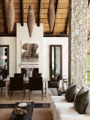 MilaneseGAL Londolozi Lodge Design Pinterest Interiors