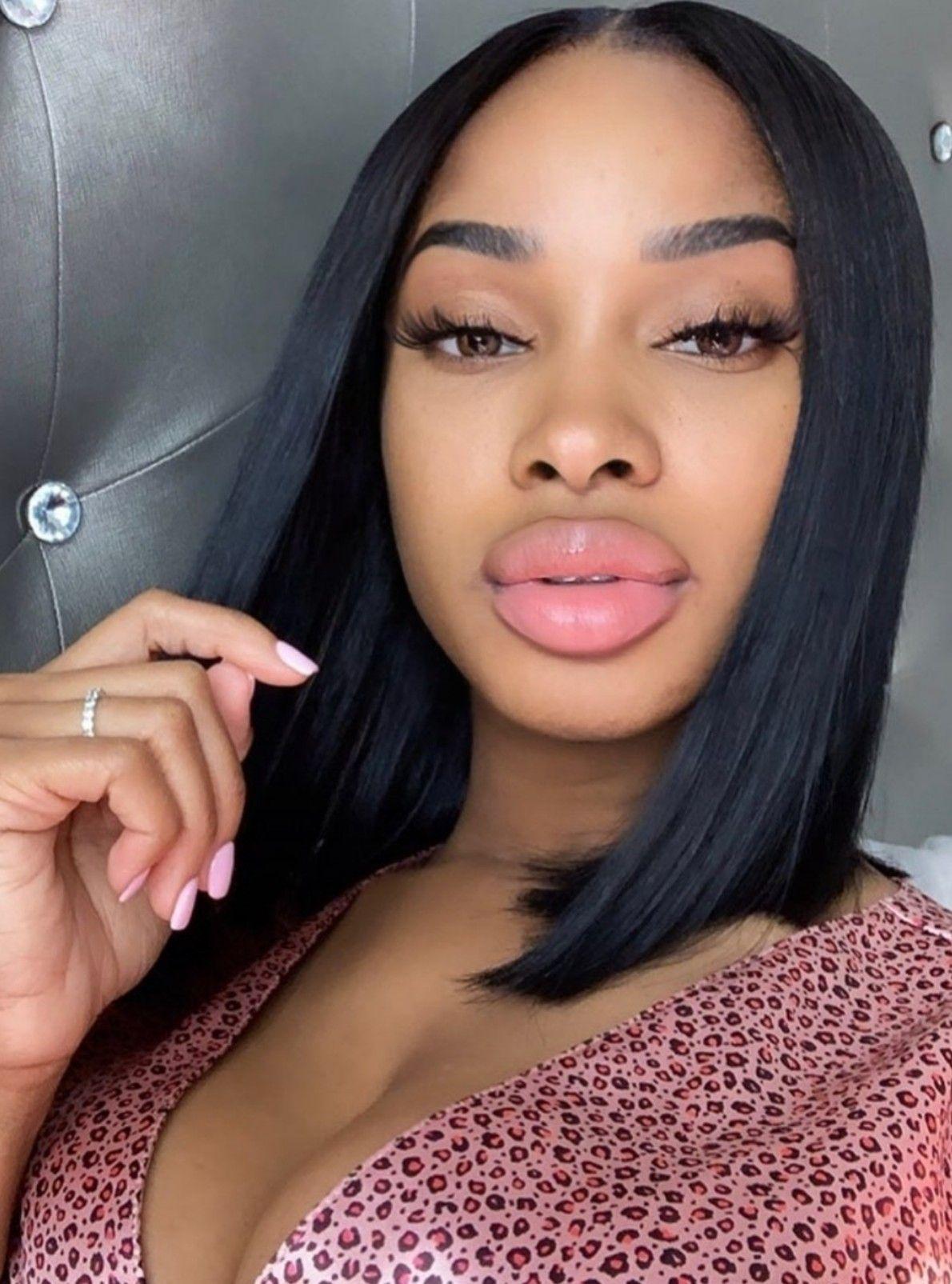 Pin on Black & Juicy Big Lips