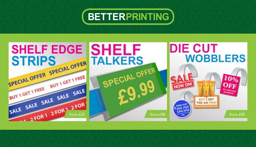 Opening a new #supermarket? #Contact us for affordable #shelfEdgeStrips & #wobblers... #printing, #graphics, #design, #print