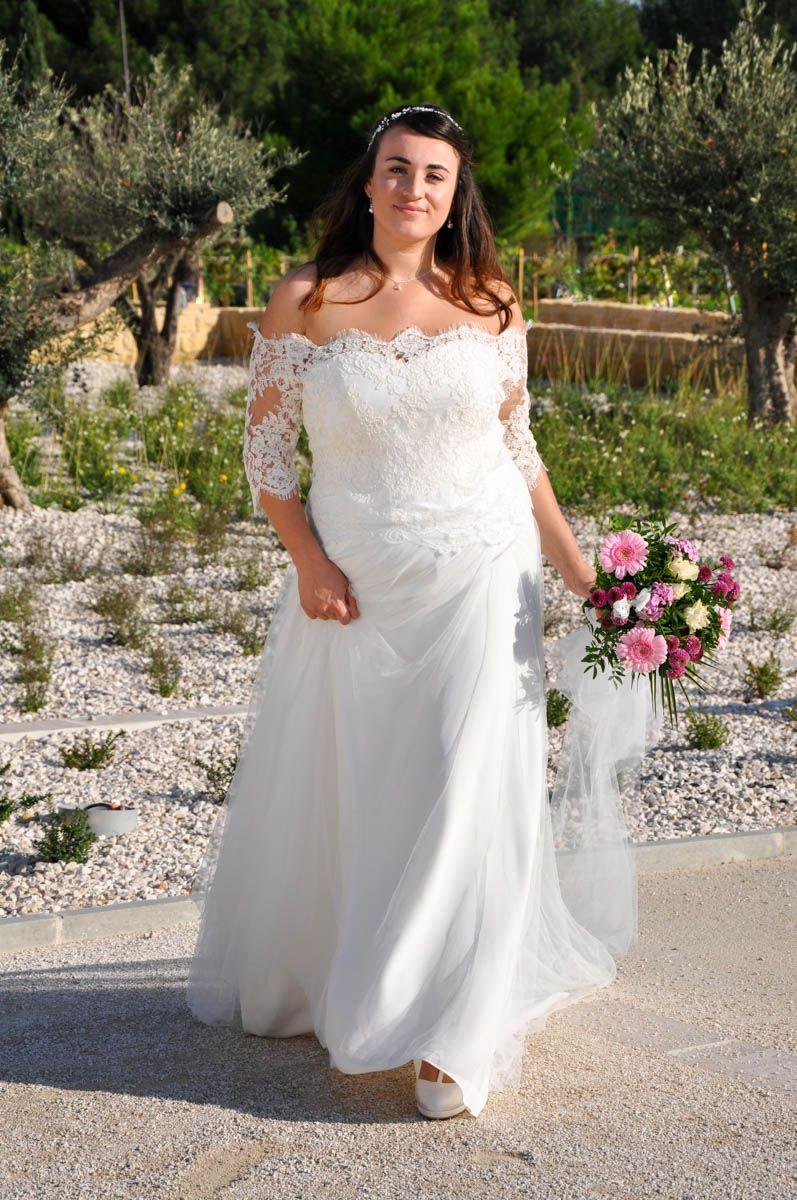 Épinglé sur Robes de mariée grande taille