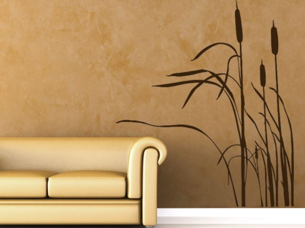 wanddesign farbe wandgestaltung wohnzimmer wohnzimmer ...