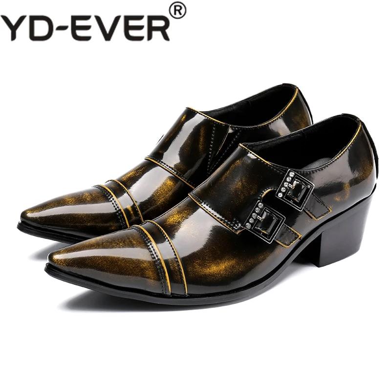 hidden high heel shoes for men genuine