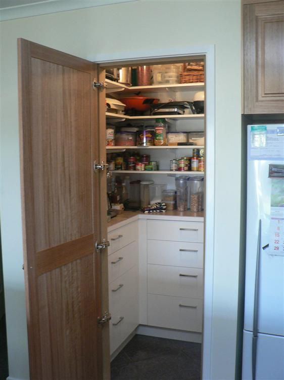 Kitchens Hobart Tasmania Joinery Cabinets Pantry Next To F F